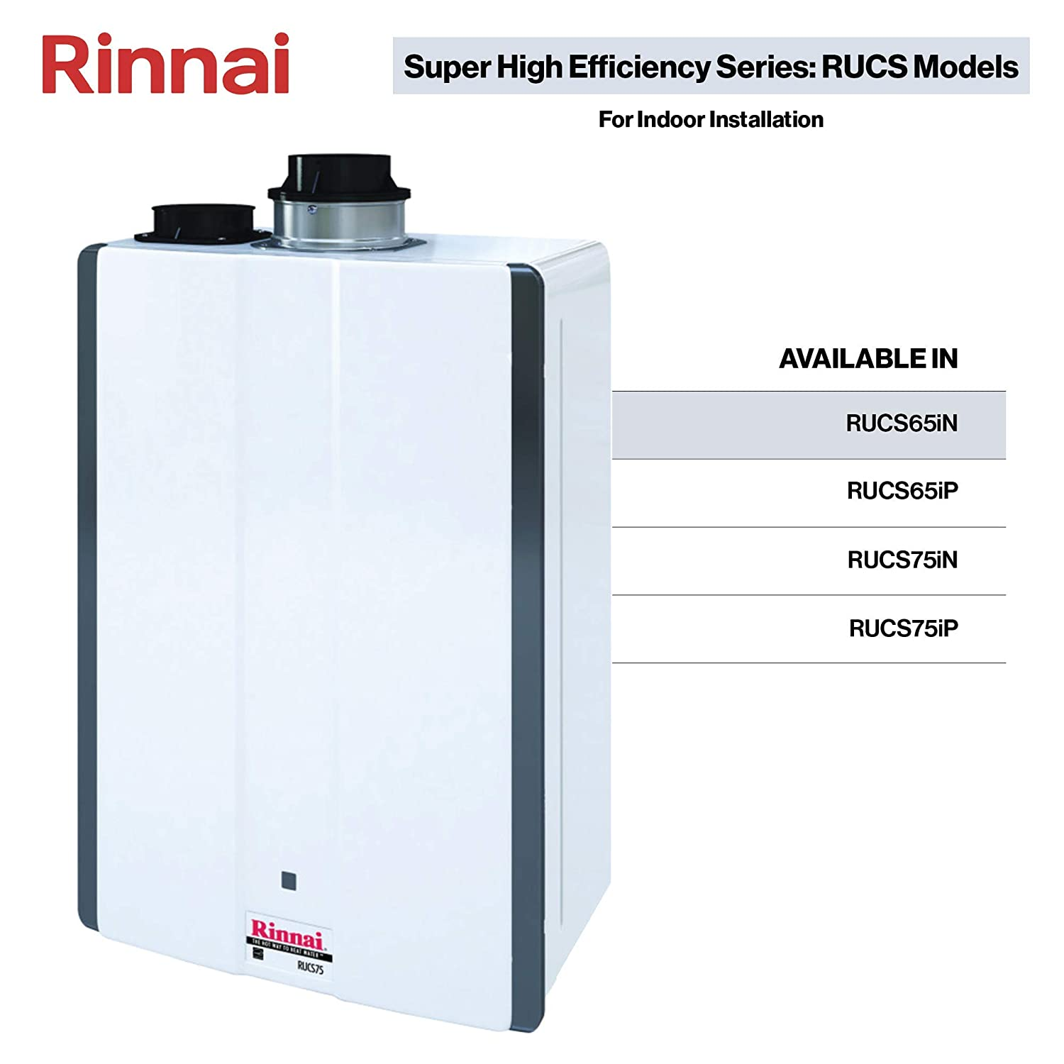 Rinnai Indoor Tankless Hot Water Heater /...
