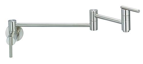 Danze D205058SS Parma Wall Mount Pot Filler,...