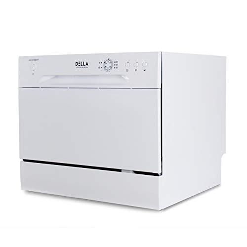 DELLA Compact Dishwasher Countertop Small...