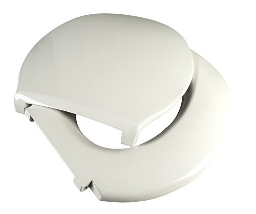 Big John 6-W Oversized Toilet Seat with Cover...
