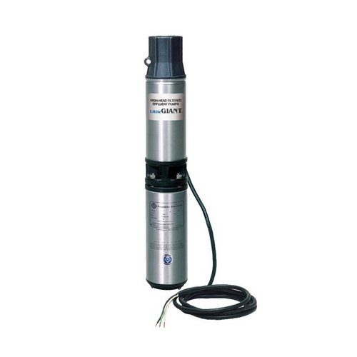 Little Giant WE20G05P4-21 Submersible Pump,...