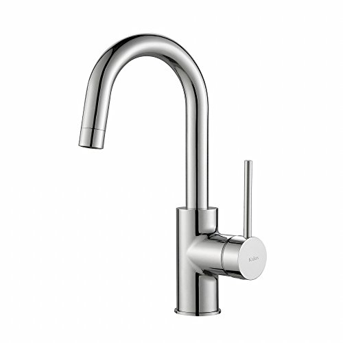 KRAUS Oletto Single Handle Kitchen Bar Faucet...
