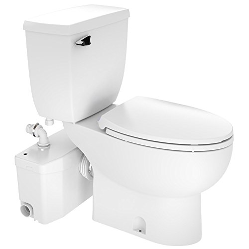 Saniflo Toilet - Two-piece SaniPlus...