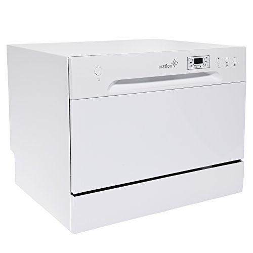 Ivation Portable Dishwasher – Countertop...