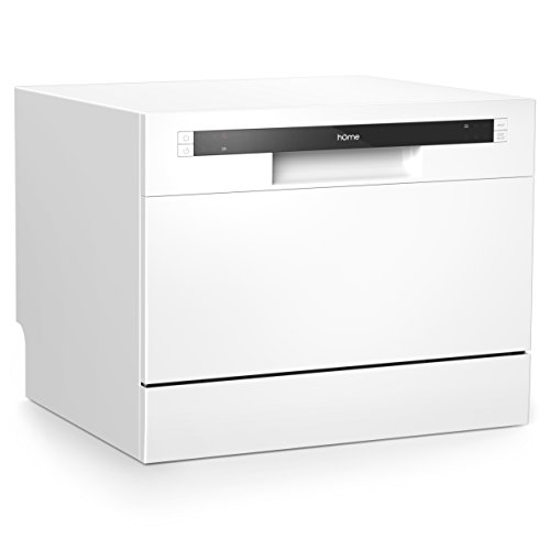 hOmeLabs Compact Countertop Dishwasher -...