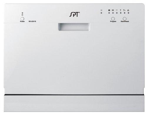 SPT Countertop Dishwasher, Silver