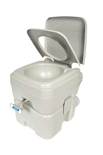 Camco Portable Travel Toilet-Designed for...