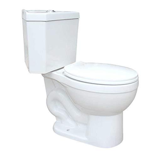 Troyt Compact Corner Bathroom Toilet 2-Piece...