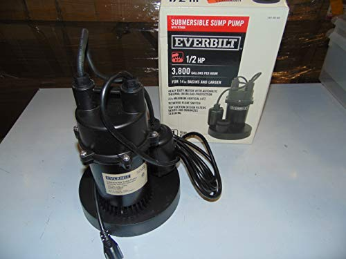 Everbilt SBA050BC 1/2 HP Submersible Sump...