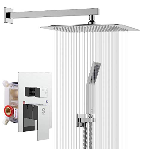 SR SUN RISE SRSH-F5043 10 Inches Bathroom...