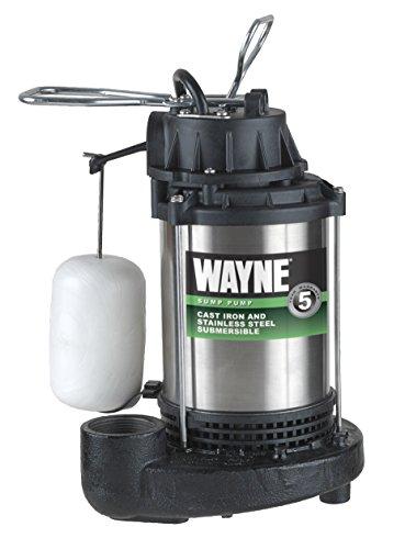 WAYNE CDU980E 3/4 HP Submersible Cast Iron...