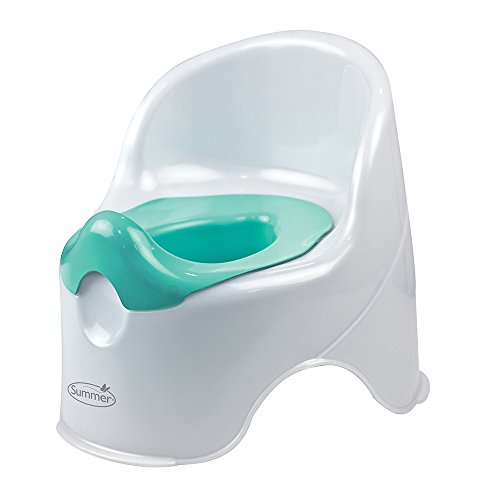 Summer Lil' Loo Potty, White and Teal