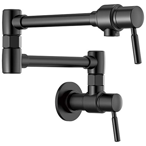Brizo 62820LF-BL European Pot Filler Double...