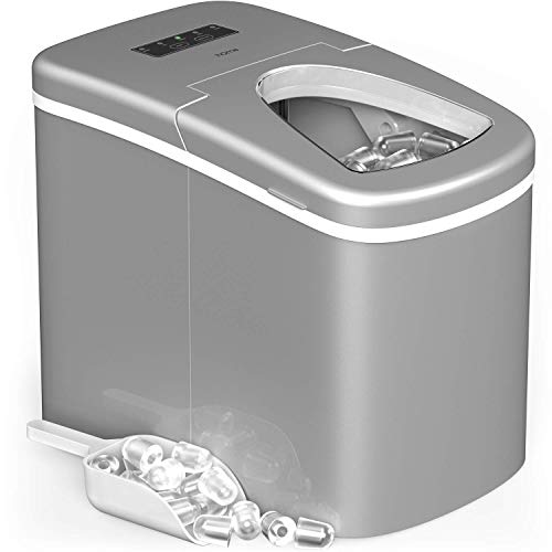 hOmeLabs Portable Ice Maker Machine for...