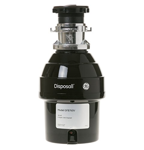 GE 3/4 HP Batch Feed Garbage Disposer...
