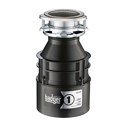 InSinkErator Garbage Disposal, Badger 1,...
