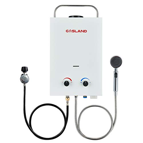 Tankless Water Heater, GASLAND Outdoors BS158...