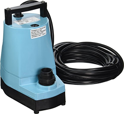 Little Giant 505025 1/6 HP Submersible...