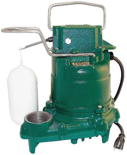 Zoeller M53 Mighty-mate Submersible Sump...