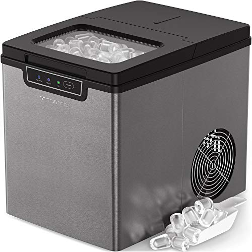 Vremi Countertop Ice Maker - Ice Cubes Ready...