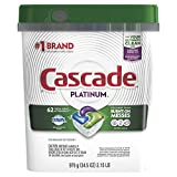 Cascade Platinum Dishwasher Pods, Actionpacs...