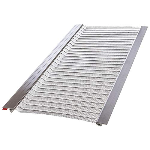 4 ft. Stainless Steel 5 in. Micro-Mesh Gutter...