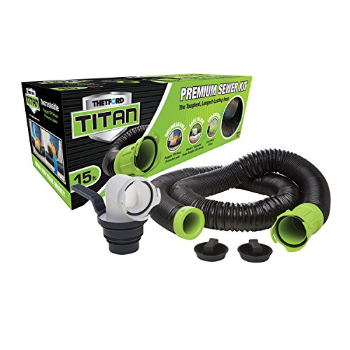 TITAN 17853 15ft 15-Foot Premium RV Sewer...