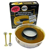 LASCO Toilet Bowl Extra Thick Wax Ring with...