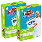 Mr. Clean Magic Eraser Bath Scrubber, 4Count...