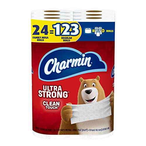 Charmin Ultra Strong Clean Touch Toilet...