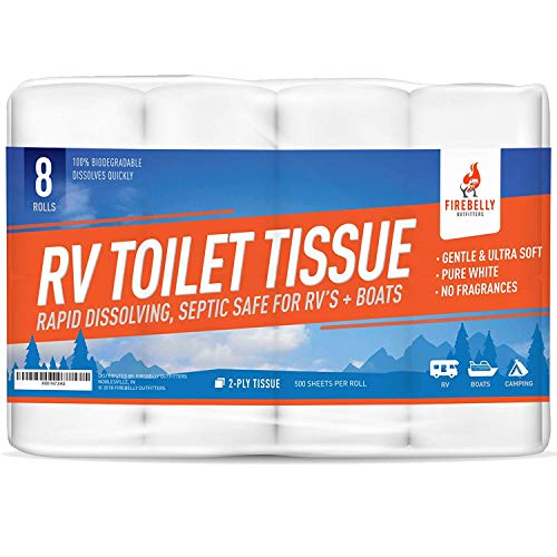 Firebelly Outfitters RV Toilet Paper, Septic...