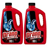 Drano Max Gel Drain Clog Remover and Cleaner...