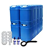 5-Gallon Stackable Water Container kit (100...