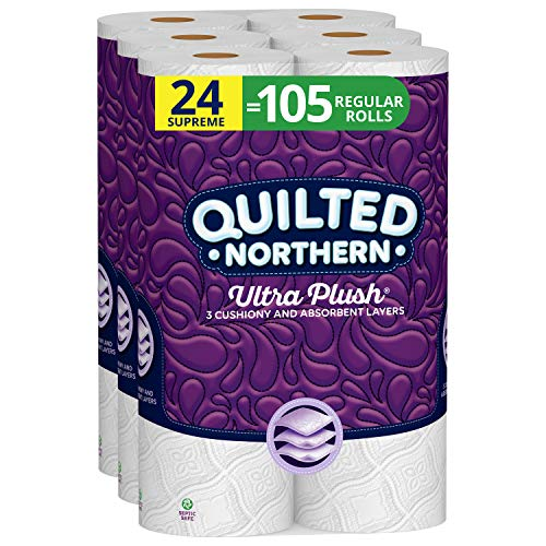 Quilted Northern Ultra Plush Toilet Paper, 24...