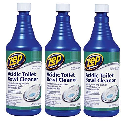 ZEP Commercial Acidic Toilet Bowl Cleaner, 32...
