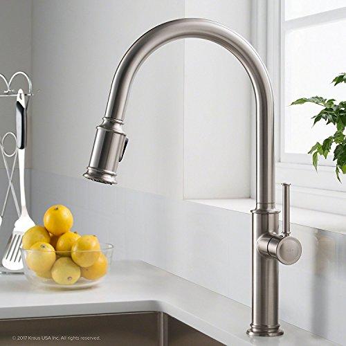 Kraus KPF-1680SFS Sellette Kitchen Faucet,...