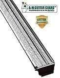 A-M Aluminum Gutter Guard 5' (100 Feet, Mill...