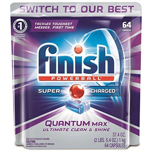 Finish Quantum Max Powerball, 64ct,...