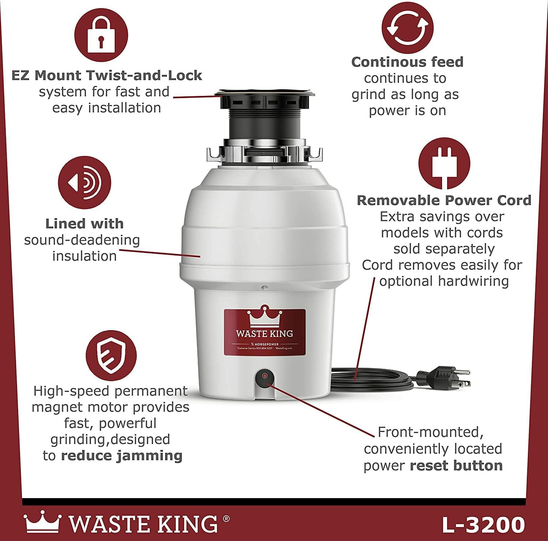 Waste King L 3200