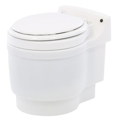 Laveo Dry Flush Chemical Free Odorless Portable Lightweight Electric Waterless Toilet