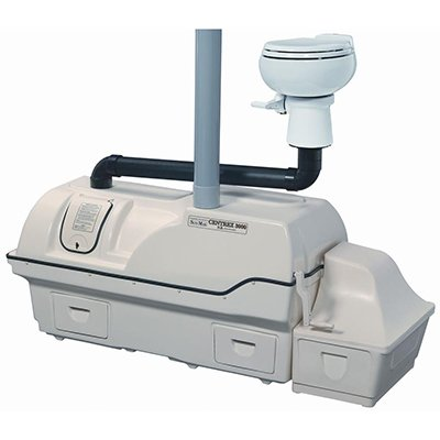 Sun-Mar Centrex 3000 Non-Electric Waterless Ultra High Capacity Central Composting Toilet System