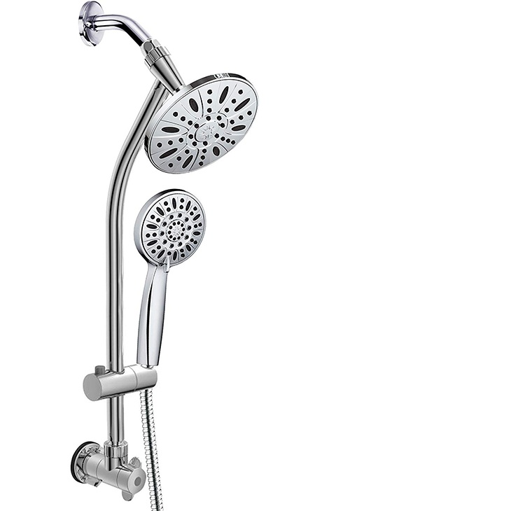 dual shower head combo