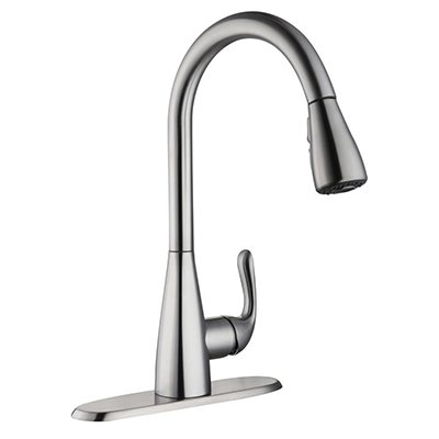 Glacier Bay Carla Single-Handle Pull-Down Sprayer Kitchen Faucet