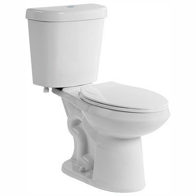 Glacier Bay #N2428R-DF 2-Piece Dual Flush Round Toilet