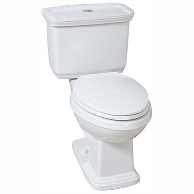 Glacier Bay #N2430E 2-Piece High-Efficiency Dual Flush Elongated Toilet