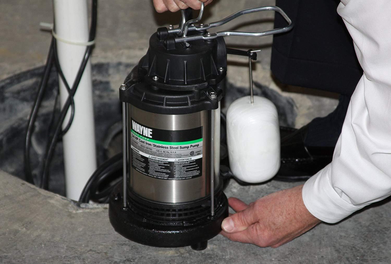18/'/' x 22/'/' Sewage /& Sump Pump Basin Pit Submersible Pedestal Plumbing Accessory