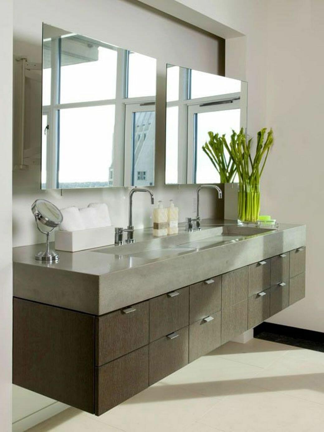 Floating Bathroom Vanity Sink