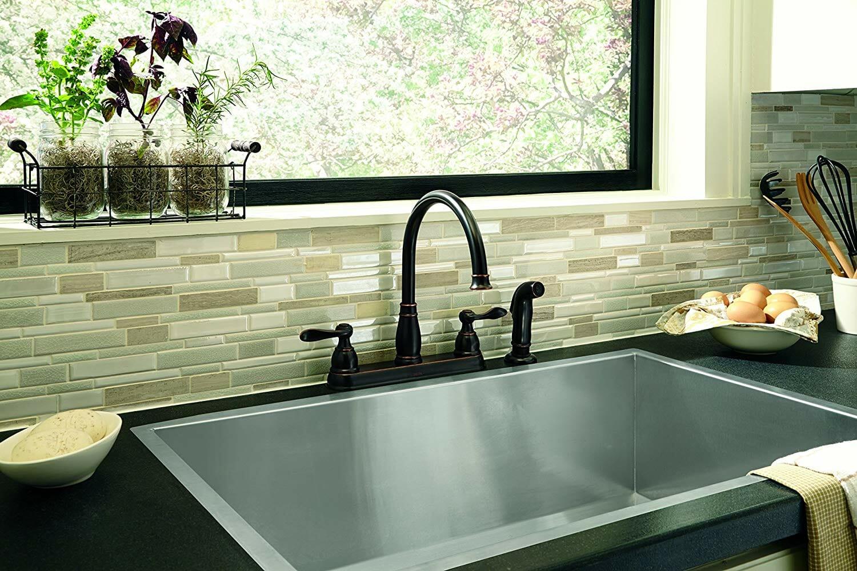 Delta Windemere 2-Handle Kitchen Sink Faucet