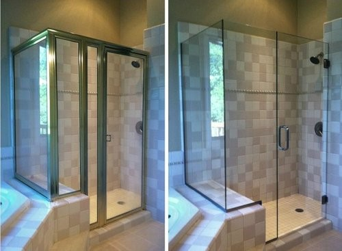 Framed vs. Frameless Shower Doors