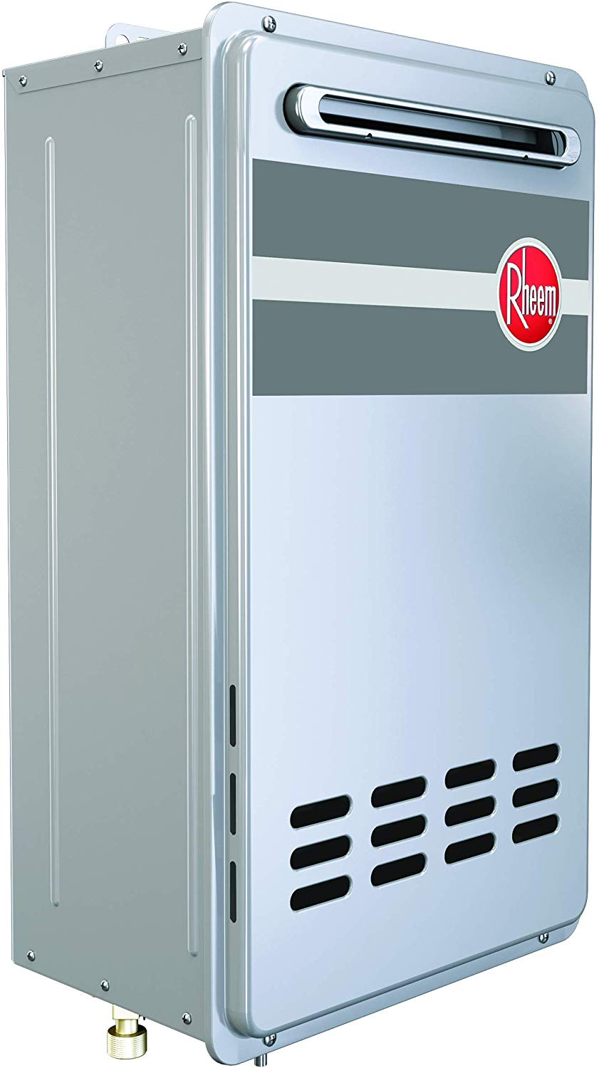 Rheem Tankless Water Heater Outdoors